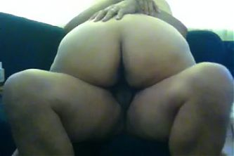Wife riding me on the couch