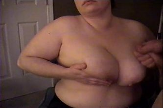 Love To Suck Her Huge Tits, Then Soak Them With Gobs Of Cum