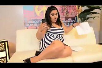 Latina BBW Anal