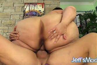 Jeffs Models - SSBBW Erin Green Cowgirl Compilation 7