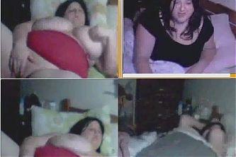 Gorda argentina pajeandose por webcam MSN