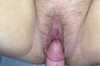 Rubbing my BBW's pussy