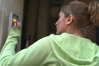 French Redhead Walks To Her Black Gangbang