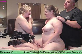 BBW Couple Threesome