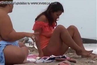 We hit the nudist beach