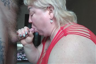 cum on mother-in-laws tongue