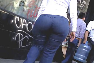 Big Butt Latin Mature - QC 132