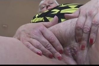 Fat Granny With a Big Ass and a Hairy Pussy